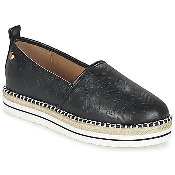Παπούτσια Γυναίκα Εσπαντρίγια Love Moschino JA10113G13 Black