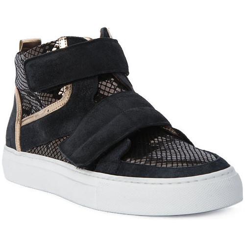 Παπούτσια Γυναίκα Ψηλά Sneakers Logan CROSSING Marrone