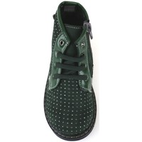 Παπούτσια Κορίτσι Μποτίνια Didiblu polacchini verde camoscio AJ952 Verde