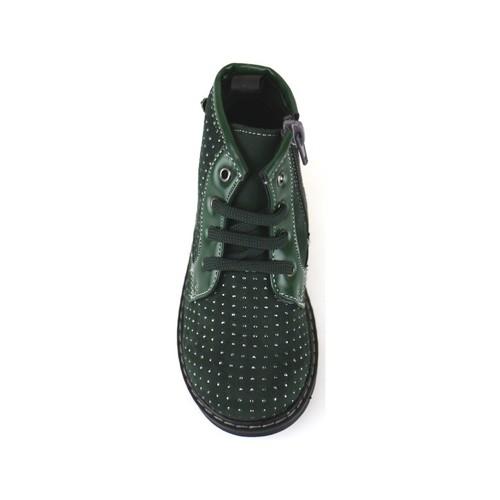 Παπούτσια Κορίτσι Μποτίνια Didiblu Μπότες αστραγάλου AJ952 πράσινος