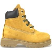 Παπούτσια Κορίτσι Μπότες Didiblu stivaletti giallo pelle scamosciata t. moro AJ956 Multicolore