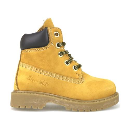 Παπούτσια Κορίτσι Μπότες Didiblu Μπότες αστραγάλου AJ956 Κίτρινος