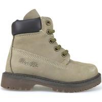 Παπούτσια Κορίτσι Μποτίνια Didiblu stivaletti beige pelle scamosciata t. moro AJ959 Multicolore