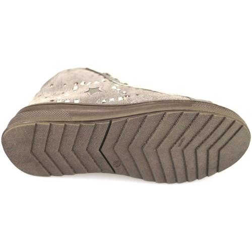 Παπούτσια Κορίτσι Ψηλά Sneakers Didiblu Αθλητικά AH126 Μπεζ