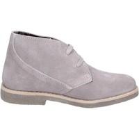 Παπούτσια Κορίτσι Μπότες Didiblu polacchini grigio camoscio AH175 Grigio
