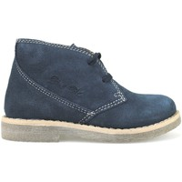 Παπούτσια Κορίτσι Μποτίνια Didiblu polacchini blu camoscio AH177 Blu