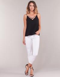 Υφασμάτινα Γυναίκα Jeans 3/4 & 7/8 Gaudi PODALI Άσπρο