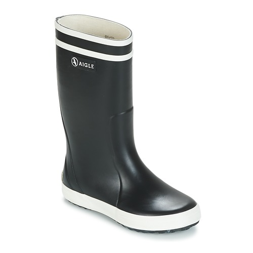 Παπούτσια Παιδί Μπότες βροχής Aigle LOLLY POP Marine / Άσπρο