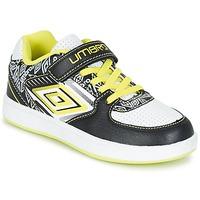 Παπούτσια Αγόρι Χαμηλά Sneakers Umbro COGAN Black / άσπρο / Yellow