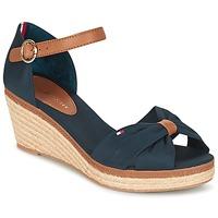 Παπούτσια Γυναίκα Σανδάλια / Πέδιλα Tommy Hilfiger ELBA 40D MARINE / Brown