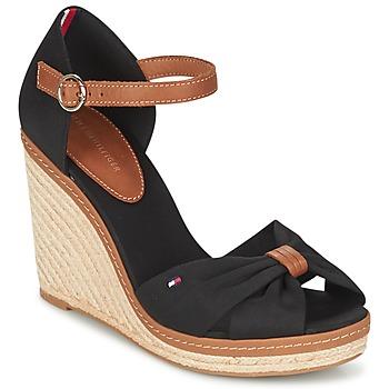 Παπούτσια Γυναίκα Σανδάλια / Πέδιλα Tommy Hilfiger ELENA 56D Black / Brown