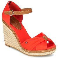 Παπούτσια Γυναίκα Σανδάλια / Πέδιλα Tommy Hilfiger ELENA 56D CORAIL / Brown