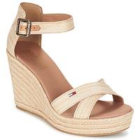Παπούτσια Γυναίκα Σανδάλια / Πέδιλα Tommy Hilfiger LUNA IDI Gold
