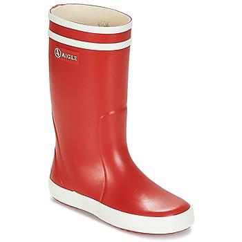 Παπούτσια Παιδί Μπότες βροχής Aigle LOLLY POP Red / Άσπρο