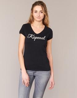 Υφασμάτινα Γυναίκα T-shirt με κοντά μανίκια Kaporal NIAM Black