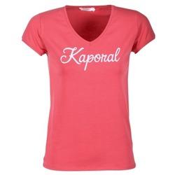 Υφασμάτινα Γυναίκα T-shirt με κοντά μανίκια Kaporal NIAM ροζ