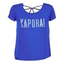 Υφασμάτινα Γυναίκα T-shirt με κοντά μανίκια Kaporal NIZA μπλέ