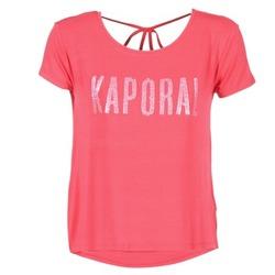 Υφασμάτινα Γυναίκα T-shirt με κοντά μανίκια Kaporal NIZA Ροζ