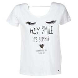 Υφασμάτινα Γυναίκα T-shirt με κοντά μανίκια Kaporal ASMA Άσπρο