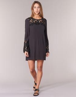 Υφασμάτινα Γυναίκα Κοντά Φορέματα Billabong OPEN HORIZON DRESS Black