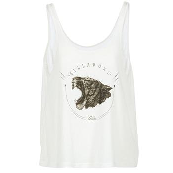 Υφασμάτινα Γυναίκα Αμάνικα / T-shirts χωρίς μανίκια Billabong OPEN TANK ECRU