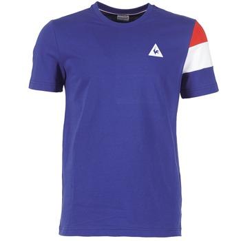 Υφασμάτινα Άνδρας T-shirt με κοντά μανίκια Le Coq Sportif BLUREA μπλέ