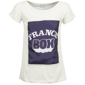 Υφασμάτινα Γυναίκα T-shirt με κοντά μανίκια Kling WARHOL άσπρο