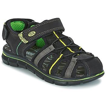 Παπούτσια Αγόρι Σανδάλια / Πέδιλα Primigi TEVEZ Black / Green