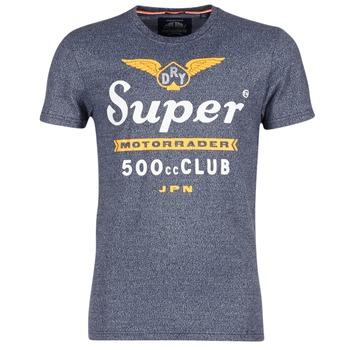 Υφασμάτινα Άνδρας T-shirt με κοντά μανίκια Superdry 500 CLUB MOTORRADER Grey