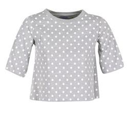 Υφασμάτινα Γυναίκα T-shirt με κοντά μανίκια Compania Fantastica EPOITATI Grey / άσπρο