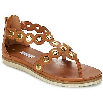 Παπούτσια Γυναίκα Σανδάλια / Πέδιλα Bugatti BRETE COGNAC