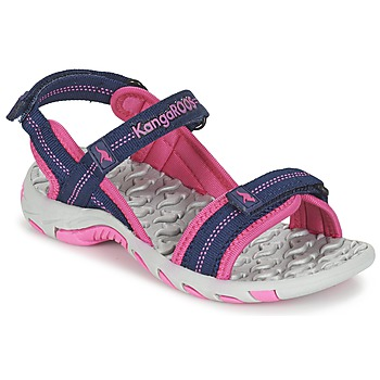 Παπούτσια Κορίτσι Σπορ σανδάλια Kangaroos MUSER Marine / Ροζ