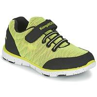 Παπούτσια Αγόρι Χαμηλά Sneakers Kangaroos NURI ZEBRA Green / Black
