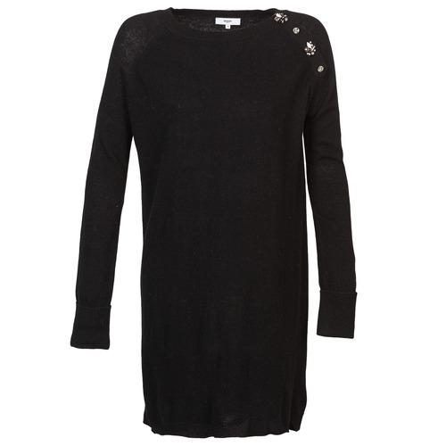 Υφασμάτινα Γυναίκα Κοντά Φορέματα Suncoo CHARLIE Black