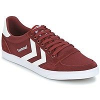 Παπούτσια Χαμηλά Sneakers Hummel STADIL CANEVAS LOW BORDEAUX