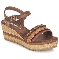 Παπούτσια Γυναίκα Σανδάλια / Πέδιλα Samoa MOLAY Brown