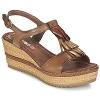 Παπούτσια Γυναίκα Σανδάλια / Πέδιλα Samoa DREDU Brown
