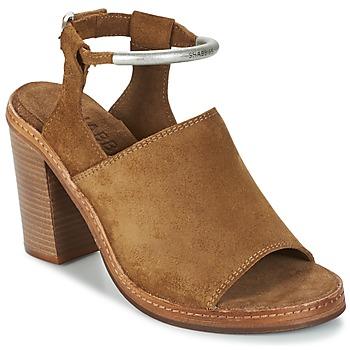 Παπούτσια Γυναίκα Σανδάλια / Πέδιλα Shabbies MARZIO Brown