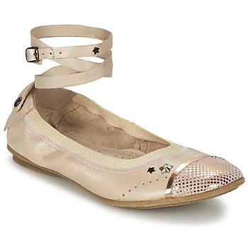 Παπούτσια Κορίτσι Μπαλαρίνες Ikks EMILY Beige / ροζ
