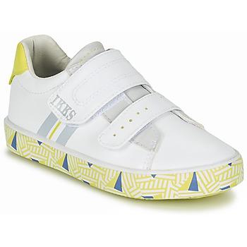 Παπούτσια Αγόρι Χαμηλά Sneakers Ikks JOE Άσπρο / Yellow