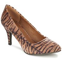 Παπούτσια Γυναίκα Γόβες Moony Mood LENI Τιγρέ