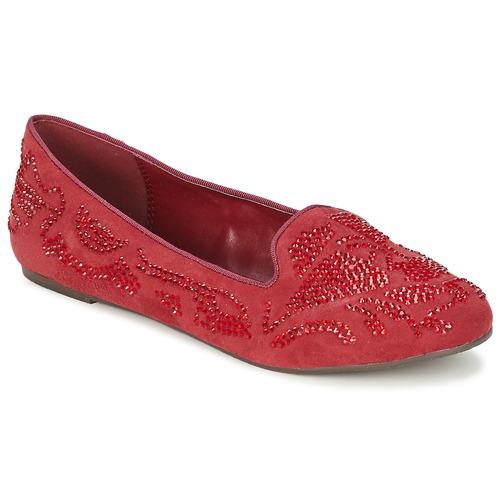 Παπούτσια Γυναίκα Μοκασσίνια Moony Mood LUDIA Red