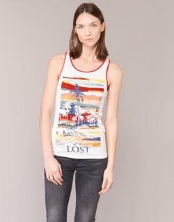 Υφασμάτινα Γυναίκα Αμάνικα / T-shirts χωρίς μανίκια Smash PISSARO Άσπρο