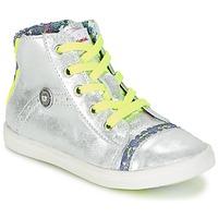 Παπούτσια Κορίτσι Ψηλά Sneakers Catimini PARULINE Argenté
