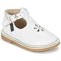 Παπούτσια Κορίτσι Μπαλαρίνες Aster BIMBO Άσπρο
