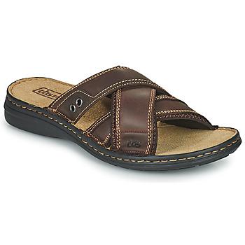 Παπούτσια Άνδρας Τσόκαρα TBS BENAIX Brown