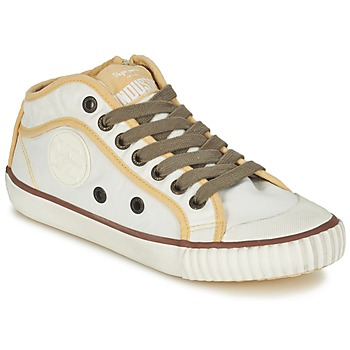 Παπούτσια Γυναίκα Χαμηλά Sneakers Pepe jeans INDUSTRY Beige / Brown / Yellow