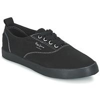 Παπούτσια Γυναίκα Χαμηλά Sneakers Pepe jeans JULIA MONOCROME Black