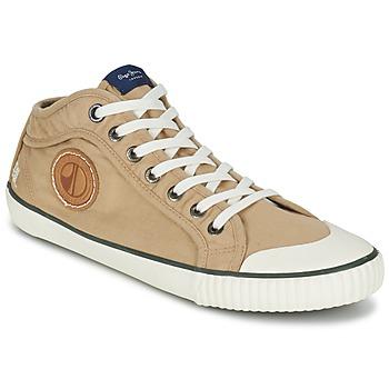 Παπούτσια Άνδρας Ψηλά Sneakers Pepe jeans INDUSTRY EARTH CAMEL