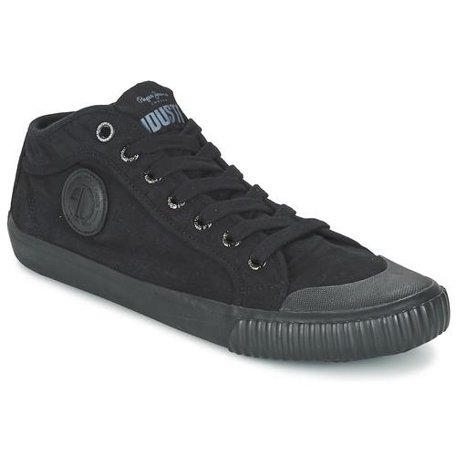 Παπούτσια Άνδρας Ψηλά Sneakers Pepe jeans INDUSTRY ROUTES Black